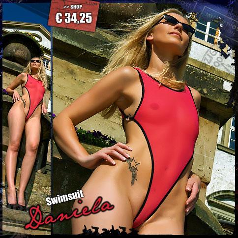 Cameltoe Swimsuit Daniela